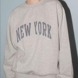New York crew neck